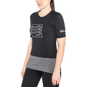 Compressport Training T-Shirt Dame black